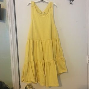 Yellow spring dress